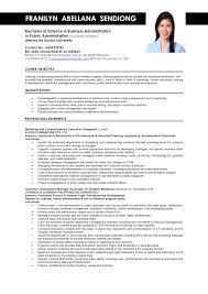 resume for business development resume for business administration