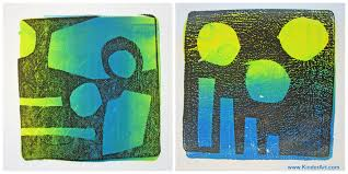 printmaking lessons for kids elementary middle and high
