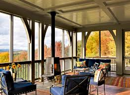 screen porch panels porch eclectic with patio furniture traditional