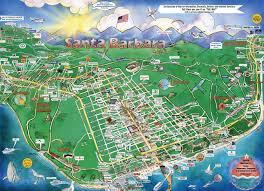 Clojure Map Popular 191 List Santa Barbara Tourist Map