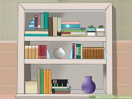 A Bookcase How To Declutter A Bookshelf 15 Steps With Pictures Wikihow
