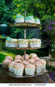 cupcake tower stock images royalty free images u0026 vectors