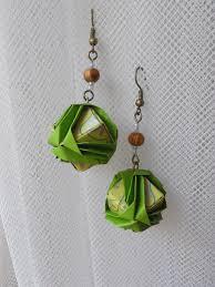 origami earrings origami earrings brocade s origami