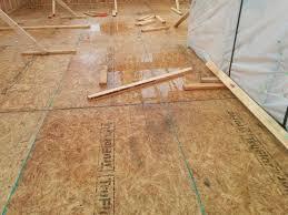 What Happens When Laminate Flooring Gets Wet Will Exposure To Rain Hurt Home U0027s Framing Lumber The Washington
