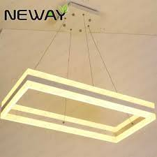 up down lighting chandelier 92w up down rectangle hanging light pendant chandelier for