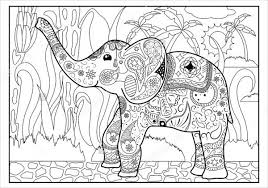 coloring pages gorgeous jungle coloring page for adults pages