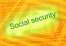 si e social orange social security text and orange background with text about social