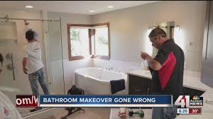 bathroom makeover gone wrong youtube