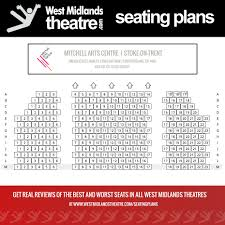 west midlands theatre seating plan for mitchell arts centre stoke