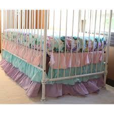 Girl Nursery Bedding Set by Cordelia U0027s Girl Baby Bedding Floral Pastel Pink Blue Lavender