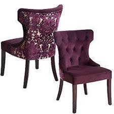 pier 1 chair slipcovers pier 1 imports hourglass dining chair purple damask 8 total for