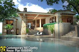 Plan 16888wg Contemporary Hill Country House Plan Lanai House Plans With Lanai