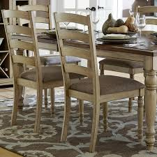 Country Dining Chairs Tribecca Home Estonia Sky Blue Upholstered Dining Chairs Set Of 2