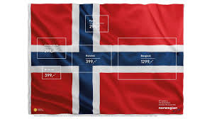 Pa Flag There Are Five Other Countries Hidden In This Norwegian Flag