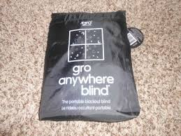Gro Company Blackout Blind Gro Anywhere Blinds Darken The Room For Your Child U0027s Naps