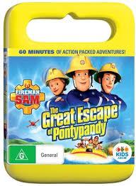 fireman sam escape pontypandy dvd abc shop