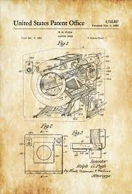 Laundry Room Decor by Clothes Dryer Patent Laundry Room Decor Vintage Clothes Dryer