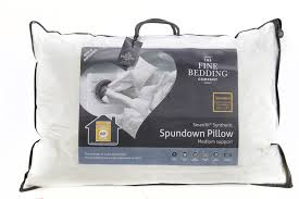 spundown washable u0026 anti allergy pillows fine bedding