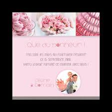 remerciement mariage original carte de remerciement mariage gourmandises macarons sur