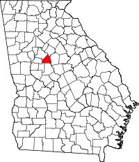 county map ga county