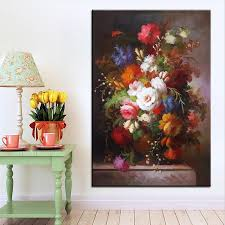 aliexpress com buy best print no 292 flower wall painting