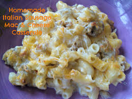 italian sausage mac cheese casserole best mac cheese