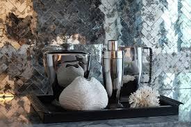 mirror tile backsplash kitchen mirrored backsplash design ideas