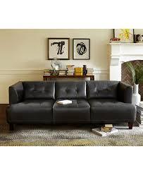 Macys Living Room Furniture Alessia Leather Sofa Living Room Furniture Collection Furniture