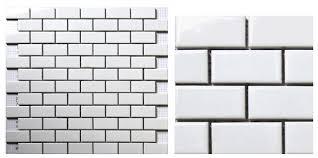 White Tiles For Bathroom Walls - aliexpress com buy white brick ceramic mosaic tile kitchen