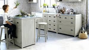 cuisine bois et meuble cuisine bois et zinc awesome meuble cuisine zinc meuble