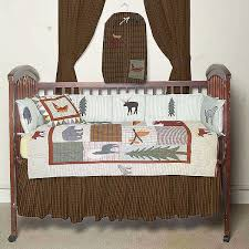 Wicker Crib Bedding Mountain Whisper Crib Bedding Sets Cabin Place