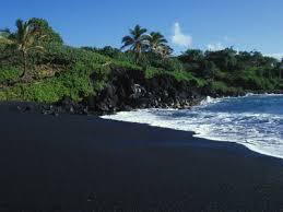 black sand beach hawaii black sand beach hawaii the big island vacation spots i d