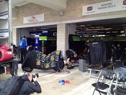 Garage Tech Monster Yamaha Tech3 Garage Catches Fire At Circuit Of The