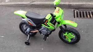 Kids Motorcross Motorbike Battery Powered 6v Part2 Youtube