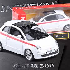 aliexpress com buy new rmz brand new rmz city 1 28 fiat 500 alloy diecast model car toys for