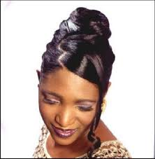 black hairstyles bun with bangs hairstyles black hairstyles french roll african american