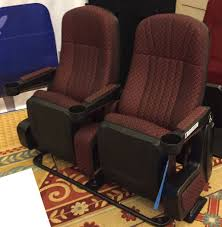 movie theater chairs for home lot of 10 used home theater movie chairs seating fixed backs
