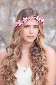 headdress for wedding pink flower crown wedding headpiece flower crown bridal
