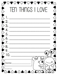 february printables first grade literacy and math