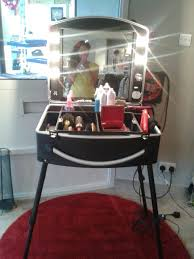 portable hair and makeup stations this mobile beauty station is for makeup artists or