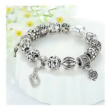european style bracelet beads images European style bracelet with tibet silver charms jpg