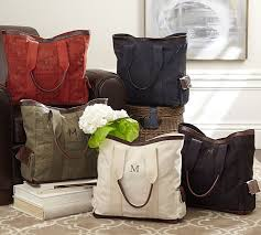 Pottery Barn Classic Diaper Bag Review Union Canvas Tote Bag Pottery Barn