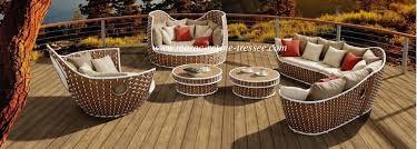 chaise tress e salon de jardin au maroc en r sine tress e fabricant casablanca