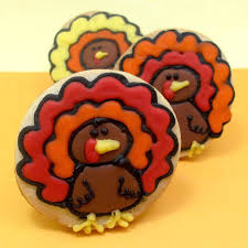 turkey cookies for thanksgiving dessert simple turkey cookies