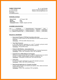 resume format pdf indian 5 indian resume format pdf action words list