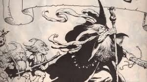 frank frazetta u0027s lord of the rings illustrations brought barbarian