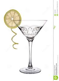 margarita glass cartoon martini with lemon royalty free stock photos image 19434838