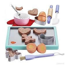accessoire cuisine enfant jeu d imitation cuisine enfants bois cookies biscuits