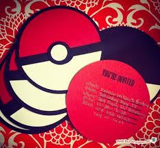 project pokemon pokeball party invite card u2013 stamping