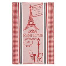 coucke bistrot de paris french dish towel striped i dream of